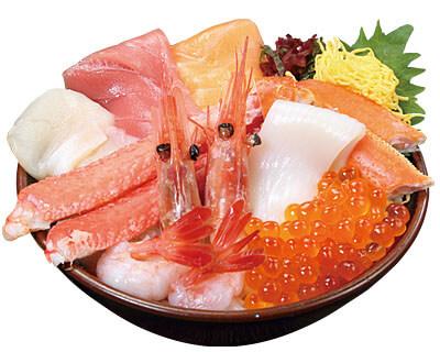 7種の海鮮丼