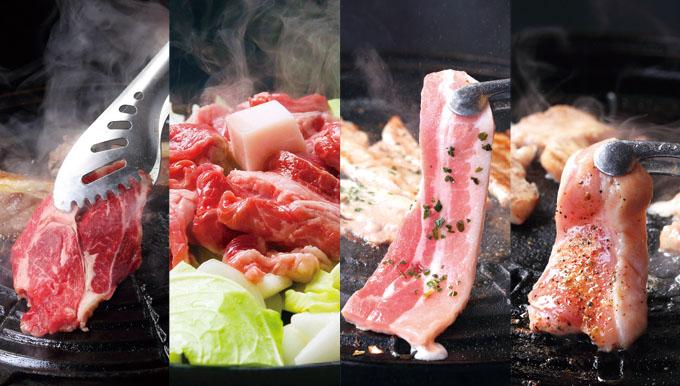 4種焼肉食べ放題